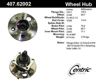 Centric 406.51009E Hub Assembly
