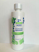 3% Food Grade Hydrogen Peroxide (h2o2) 8 Ounces