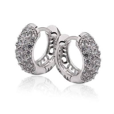 Countess 4CT Oval Double Halo IOBI Lab Created Diamond Earrings