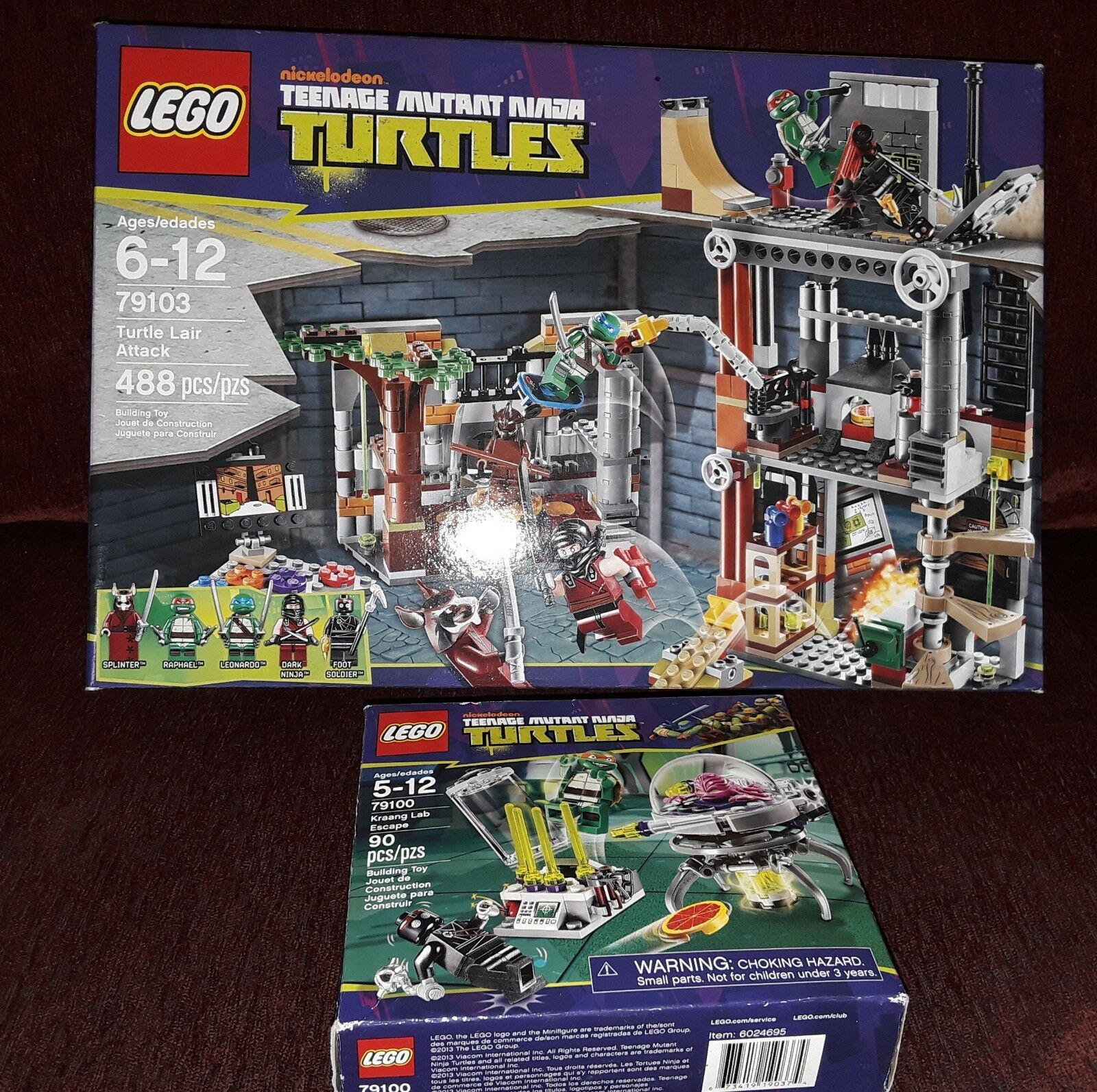 Lego Teenage Mutant Ninja Turtles Turtles Turtles Tmnt guarida ataque Krang Lab Escape Rare fuera de imprenta Nuevo  ahorra hasta un 70%