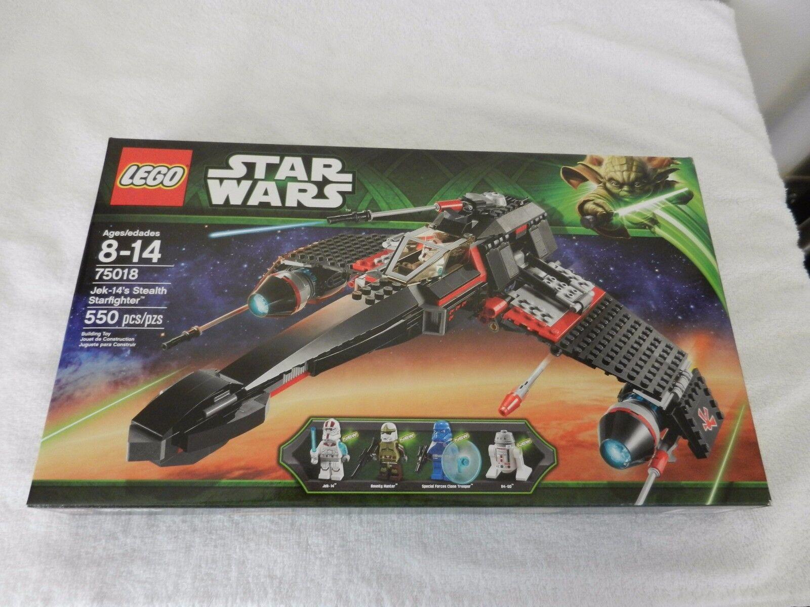 NEW LEGO STAR WARS JEK-14's Stealth Starfighter  pcs Factory Sealed
