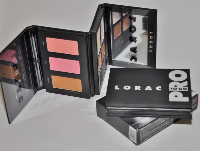 LORAC PRO To Go  Eye Cheek Palette Kit Set Eye Shadow Blush Bronzer  New in Box