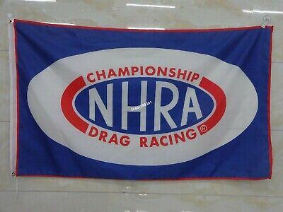Nhra Flag Banner 3x5ft Drag Racing Championship Wall Decor Garage Man Cave Ebay