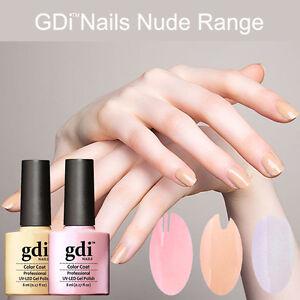 Image Is Loading Gdi Nails Pastel Colours Range Uv Led