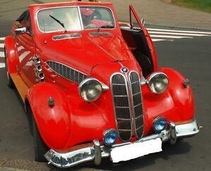 BMW Bayerische Motoren Werke ungelochte histor. Aktie München 1942 Auto Bayern