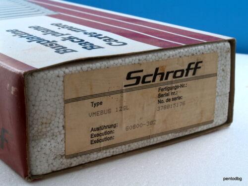 VME BACKPLANE  SYSTEMBUS  12 SLOT SCHROFF 60800-382 VERI RARE IN ORIINAL BOX