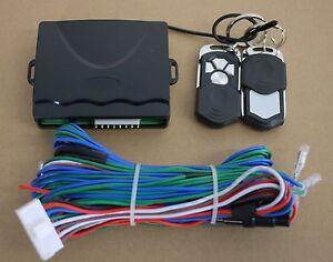 Universal-Car-Control-unit-Central-Lock-Locking-Keyless-System-with-2-Remote-Kit