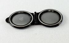 Rolleiflex Bay II (2) Satin Finish Folding Metal Lens Cover