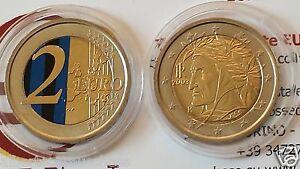 2-euro-2003-Italia-color-farbe-couleur-cor-italie-italien-italy-Inter-Milan