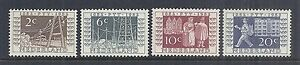 1952-Netherlands-336-339-757a-d-Set-of-4-Centenary-of-Dutch-Stamps-MH
