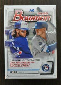 2020-Topps-MLB-Bowman-Baseball-Trading-Card-Retail-Blaster-Box-72-Cards-New