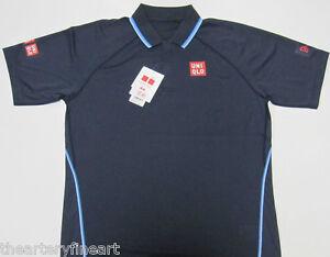 cab7598a UNIQLO x Novak Djokovic 2015 Australian Open DRY-EX Polo Shirt S ...