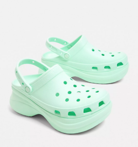 women's platform crocs