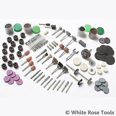 BlueSpot 216pc Rotary Tool Accessory Kit Sanding Polishing Grinding Fits Dremel