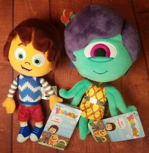 Kazoops-Monty-and-Lily-the-Alien-Soft-Plush-Toy-Brand-new-toys-with-Tags