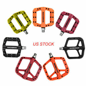 Outdoor-Mountain-Bike-Pedals-elargir-Nylon-Fibre-Bicycle-Bearing-plate-forme-Pedales