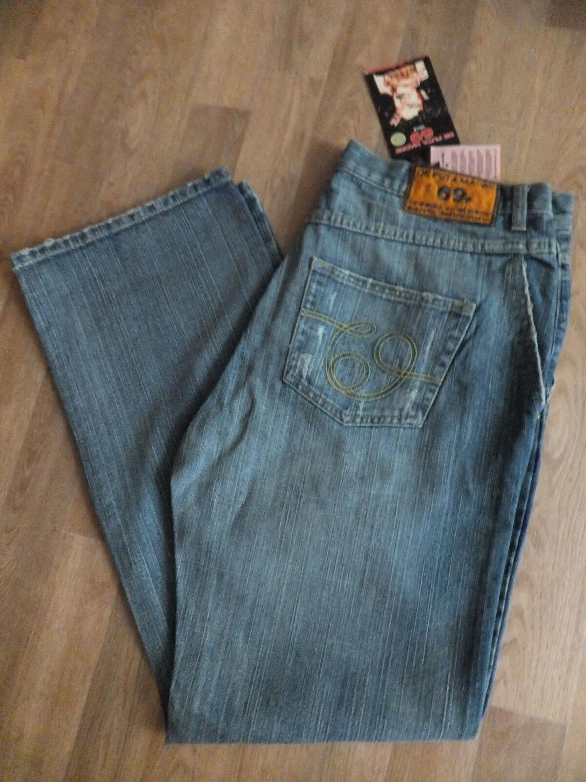 Designer De Puta Madre 69 Herren Jeans Hose Blau Gr.52  Neu