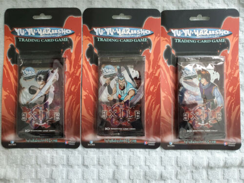 Yu Yu Hakusho TCG CCG Exile Blister Booster Pack Unlimited Sealed