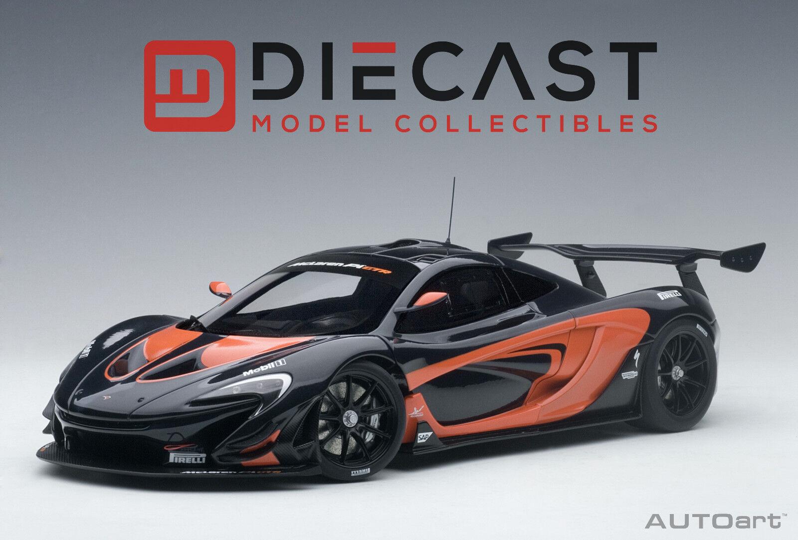 artículos novedosos Autoart 81543 McLaren P1 GTR (detalles Color Color Color Naranja Metálico gris Oscuro) 1 18TH Escala  Precio por piso