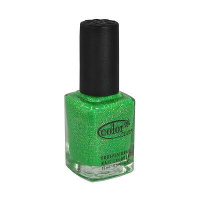 Color Club Nail Polish Lacquer GN05 Glitter Envy 0.5oz