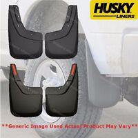Husky Custom Fit Front & Rear Mud Guard Fits 2007-2013 Chevy Silverado 1500