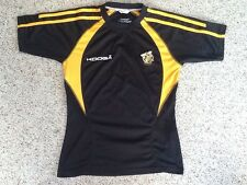 AMERICAN INTERNATIONAL COLLEGE AIC YELLOW JACKETS RUGBY JERSEY SHIRT  SMALL