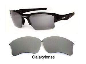 9cc02bae9e Details about Galaxy Replacement Lens For-Oakley Flak Jacket XLJ Sunglasses  Titanium Polarized