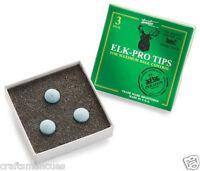 3 X Elk Pro Tips - Pro Version Of Elk Master Tips For Snooker / Pool Cues