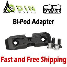 Odin Works K-Pod Low-Profile Harris BiPod Adapter Mount for KeyMod System
