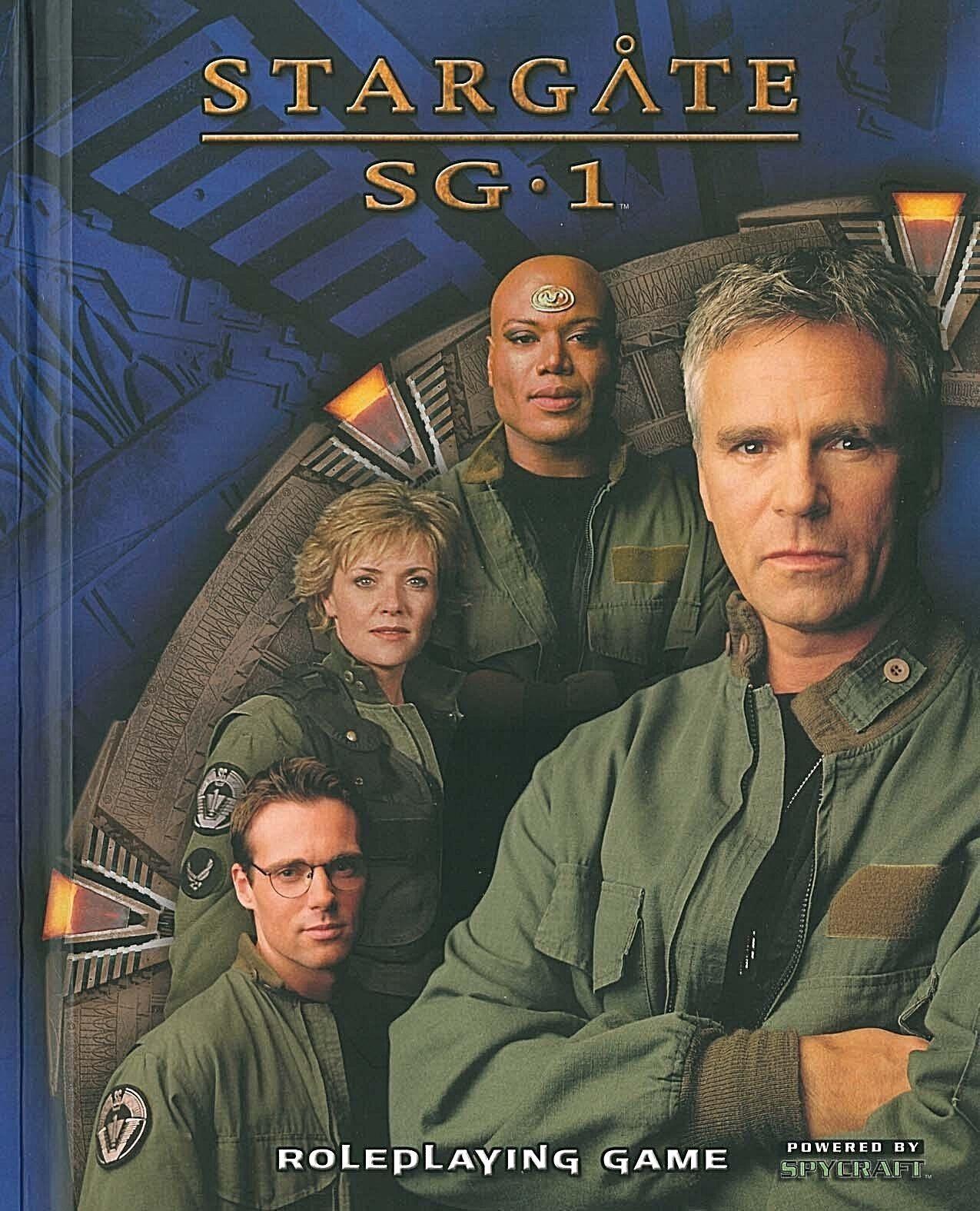 Estrellagate SG.1 RPG Gioco di Ruolo Il rilegato libro spionaggio  2003-RARO  grande sconto