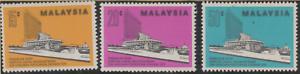 68-MALAYSIA-1976-SARAWAK-STATE-COUNCIL-COMPLEX-SET-3V-FRESH-MNH-CAT-RM-13