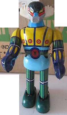 Jeeg Robot Takara Geag Latta Tin Toy A Carica 1975 Spese Gratis Non-Stireria