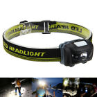 Super Bright 1000LM R3+2LED Mini Headlight Headlamp Flashlight Torch Lamp Lights