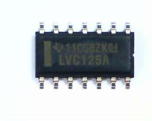 100-x-Texas-Instruments-SN74LVC125ADR-Quad-Bus-Buffer-5-3-ns-2-7-V-24mA