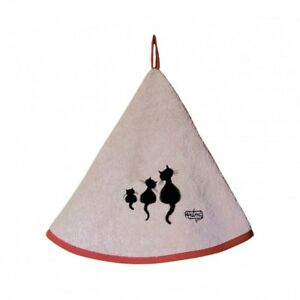 Torchons-amp-Bouchons-French-Cat-Family-CHAT-DUBOUT-Hanging-Cotton-Towel-Loop-22