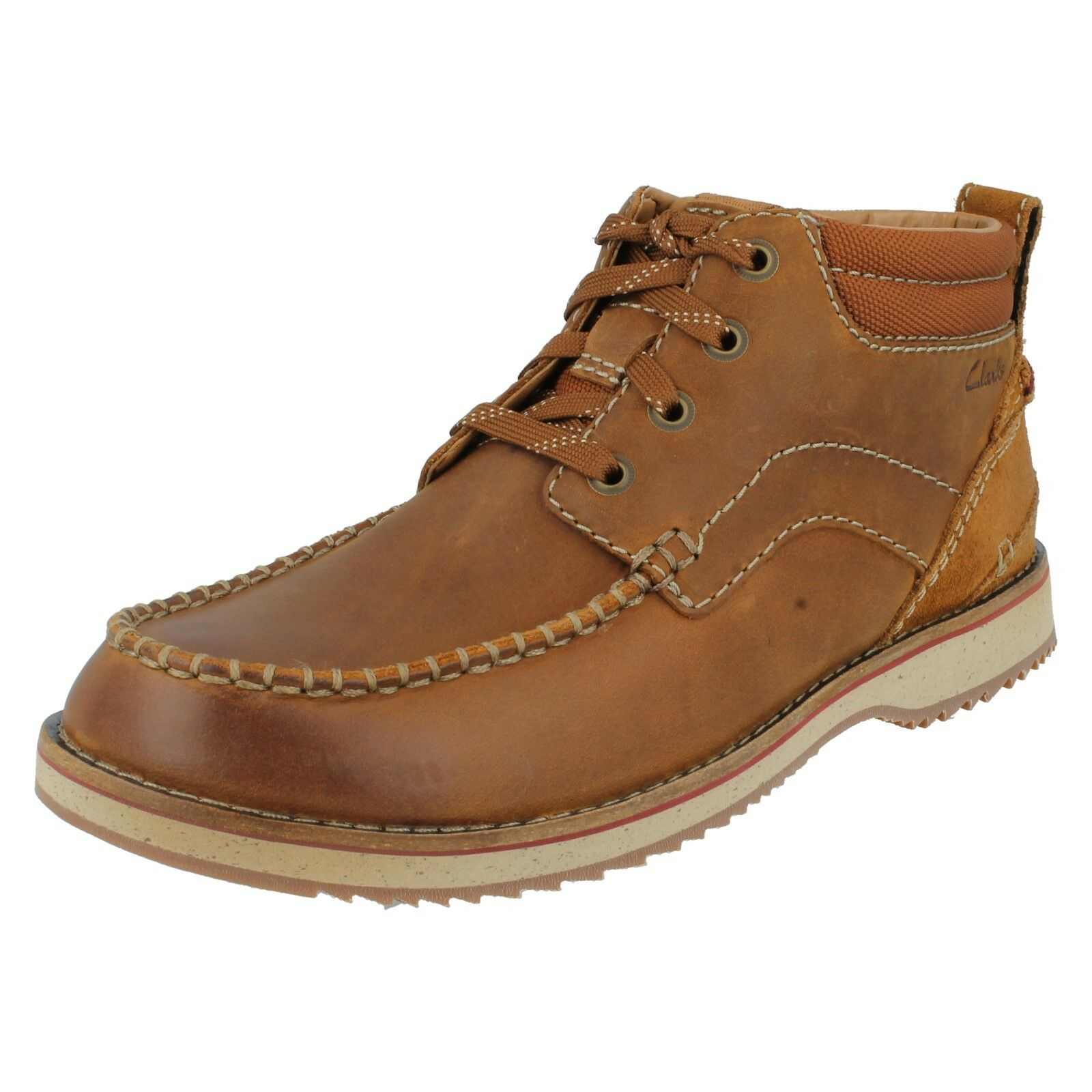 MAHALE MID  Herren CLARKS NUBUCK LEATHER LEATHER LEATHER LACE UP G FIT CASUAL ANKLE CHUKKA Stiefel 1b7c2e