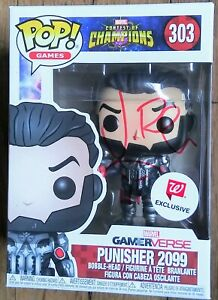 JON-BERNTHAL-AUTOGRAPHED-PUNISHER-2099-FUNKO-POP-303-THE-WALKING-DEAD-SHANE