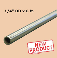 Round Tubing 304 Stainless Steel 14 Od X 6 Feet Welded 0194 Inside Dia New