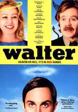 WALTER  (DVD, 2015)  William H. Macy  BRAND NEW NO RESERVE