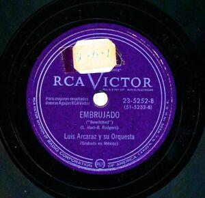 LUIS-ARCARAZ-y-su-Orquesta-on-RCA-Victor-23-5252-Embrujado-Johnson-Rag
