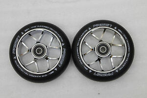 Scooter-Wheel-Lambo-Oil-Chrome-110mm-86A-2-Stk-NEU