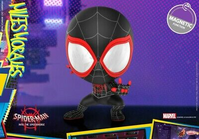 Hot Toys Sweater Miles Spider-Man Figure COSBABY COSB636 Bubble-head Mini Toy
