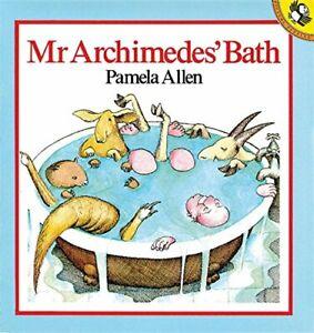 Mr-Archimedes-039-Bath-Picture-Puffin-by-Allen-Pamela-Spiral-bound-Book-The