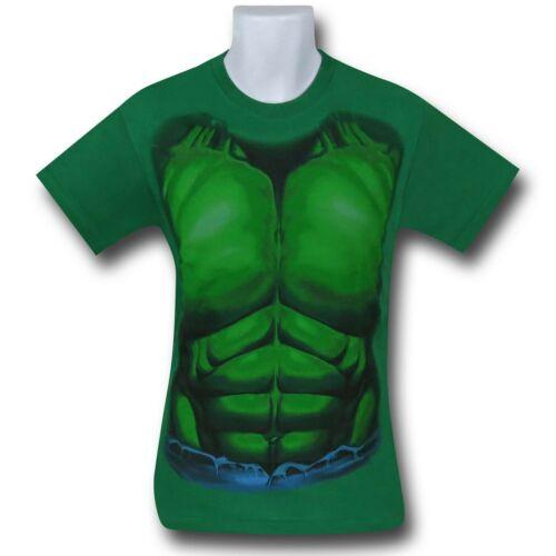 Hulk Kids Costume T-Shirt Green