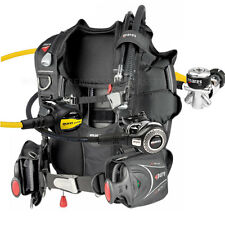 DIVING EQUIPMENT MARES PACKAGE BCD PURE SIZE SMALL YOKE REGULATOR ABYSS