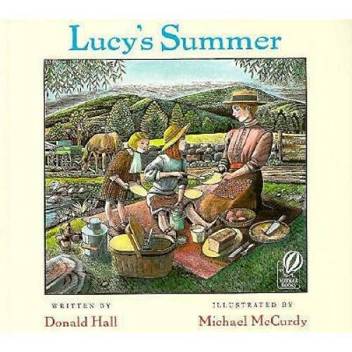 Lucy's Summer - Paperback By Hall, Donald - VERY GOOD