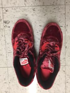 free shipping 82348 a7fd0 Image is loading Nike-Air-Max-90-25th-Anniversary-Red-Velvet-