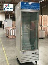 New Commercial One Glass Door Freezer Merchandiser Cabinet Nsf Etl Single
