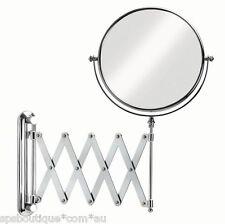 Item 3 IKEA FRACK Extendable Magnifying Bathroom Mirror NEW Stainless Steel FRCK