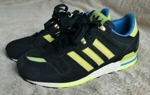 recuperación Gracias Adoración  Adidas Originals ZX 700 Azul Marino Negro Con Cordones Zapatillas Size UK 7  FR 40 2/3 US 7.5 | eBay